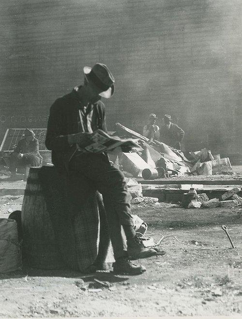 Unemployed San Franciscan , 1934. [Dorothea Lange]