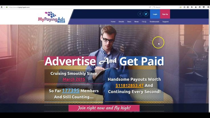 How to Sign Up To My Paying Ads