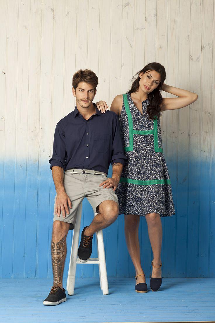 Verão 2015 - moda masculina e feminina