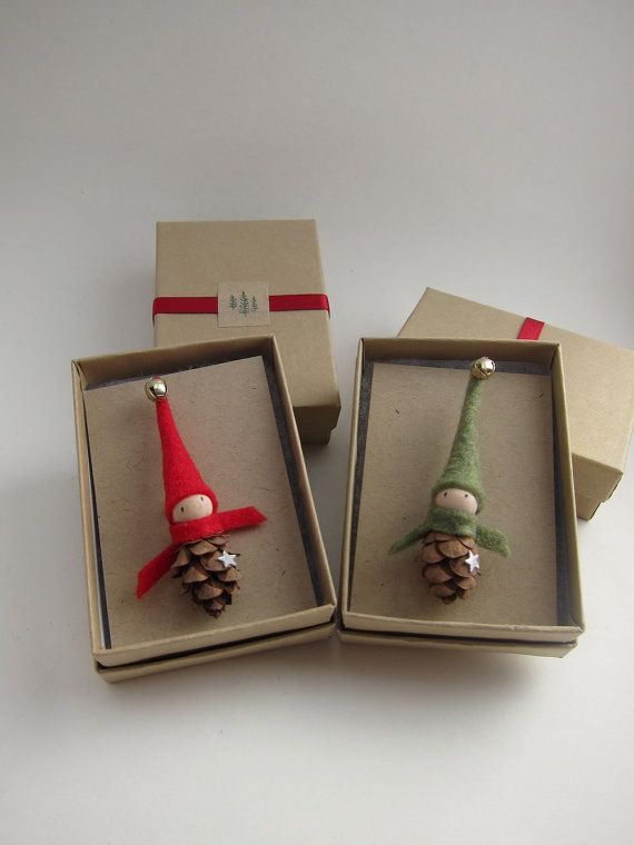 Elf Pin Brooch Stocking Stuffer Teacher Gift Secret by kaniko