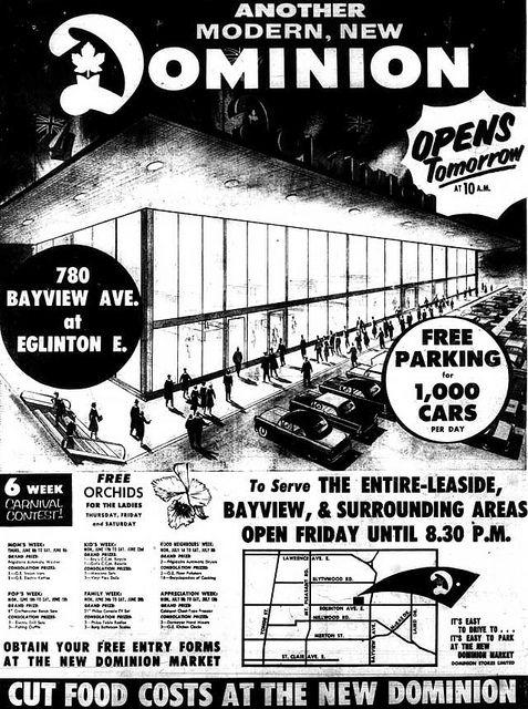 Vintage Ad:  New Dominion Store, jbcurio, via Flickr