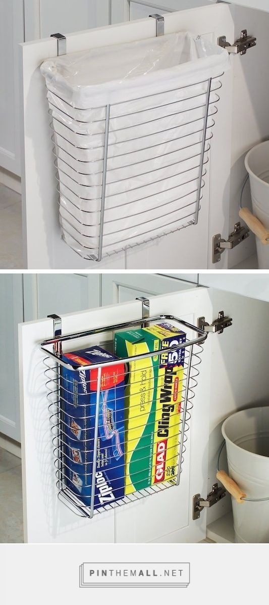 Over the Cabinet, Waste/Storage Baskets - created via http://pinthemall.net