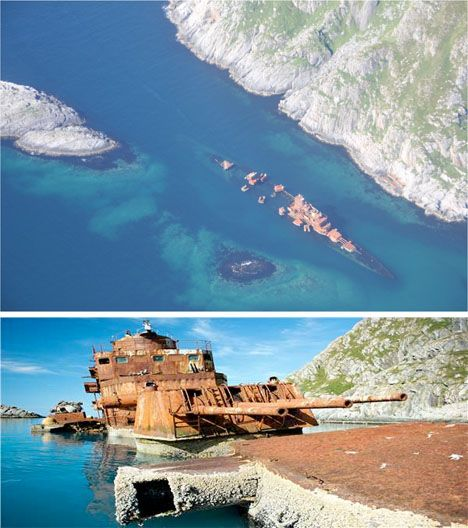 National Geographic Bismarck Wreck