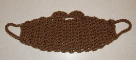 Crochet Beard Enjoy this Fun Beard  Hat Pattern!  If you tell others about my work, please only link back to ...