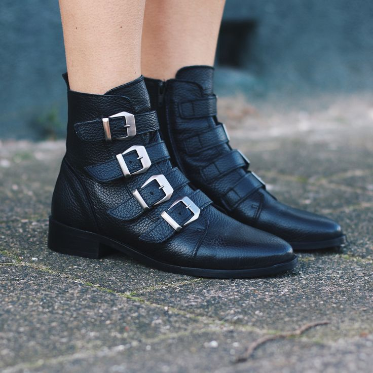 Cool boots!  #fashion #shoes #bikerboots #leather #newcollection #new #webshop #shoeparty #spring #summer #black #photography #model #ootd #style #outfit