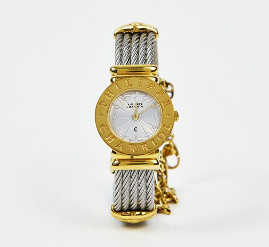 Philippe Charriol silver & gold watch