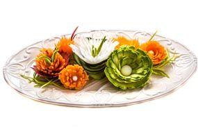 Fiori di verdure temperate