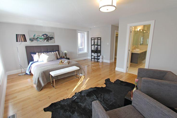 For sale, 563 St Clarens Ave, Toronto, real estate, Bloordale Village, 3 bedroom, 4 bathroom, home, cedar, brick, master bedroom