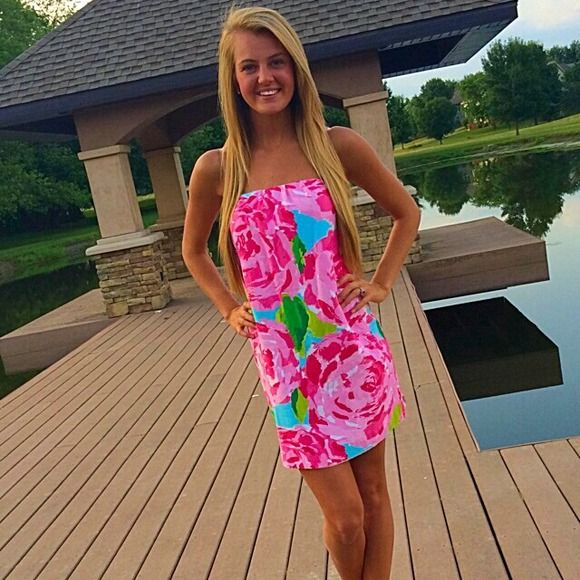 Lilly Pulitzer Dresses & Skirts - First Impression Lilly Pulitzer Dress