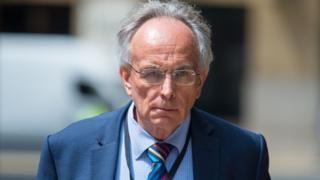 Adam Simmonds trial: Peter Bone 'amazed' details of fraud probe shared