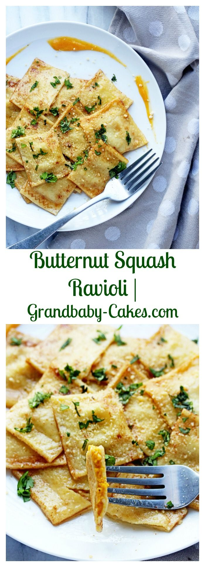 Butternut Squash Ravioli | Grandbaby-Cakes.com
