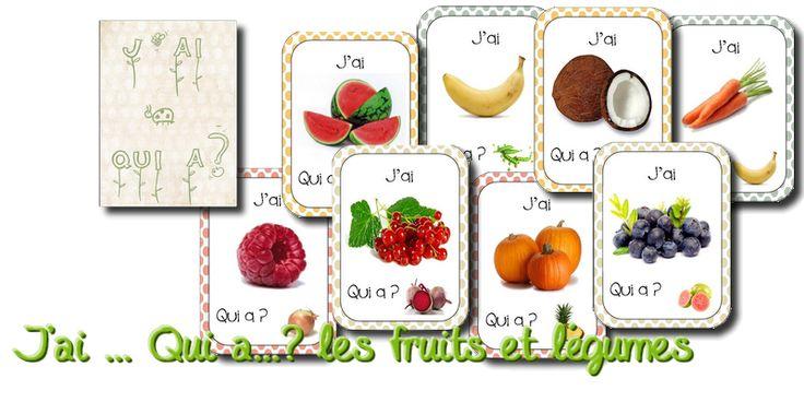 La maternelle de Laurène: J'ai ............. Qui a ....avec fruits