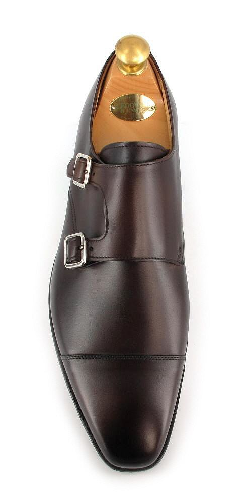 Lowndes - Dark Brown Burnished Calf