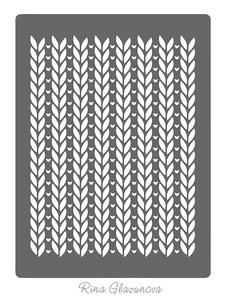 Knit Stencil on Craftsuprint - View Now!
