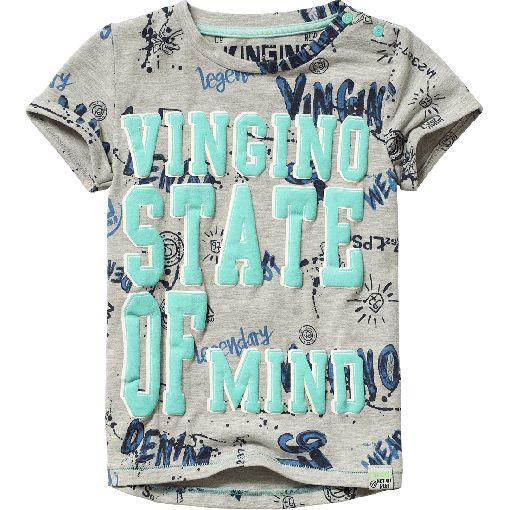 Vingino® T-shirt Harco Mini Light Grey Melee Spring/Summer collection 2017