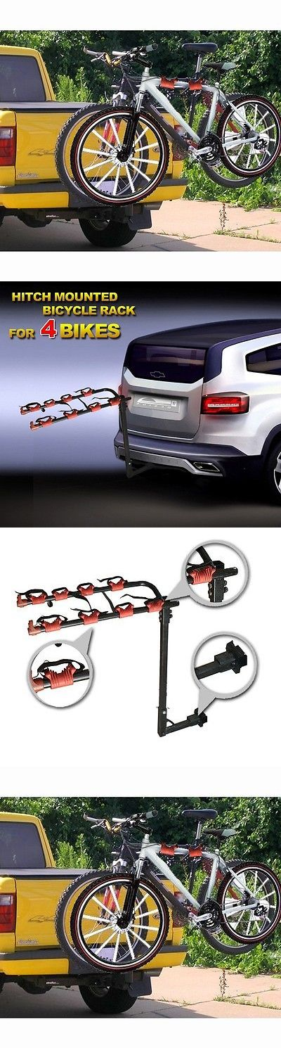 Car and Truck Racks 177849: New Mtn Hitch 4 Bicycle Rack Carrier Suv Truck Bike Hitch Mount 1-1/4 And 2 -> BUY IT NOW ONLY: $49.95 on eBay!