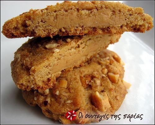 Μπισκότα με φυστικοβούτυρο 2 #sintagespareas