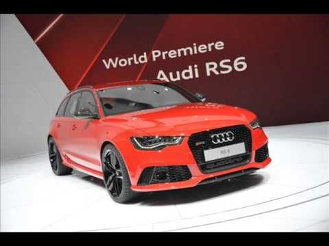 2014 Audi RS6 Avant Quattro live debut at Geneva Motor Show 2013 - horsepowe specs price review 0-60