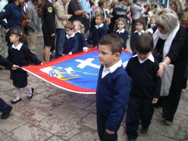 Λαμπρός ο εορτασμός της 28ης Οκτωβρίου στην Ύδρα