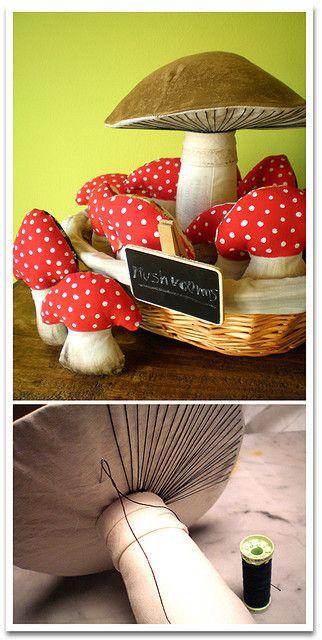 Magic mushrooms | Pilze nähen