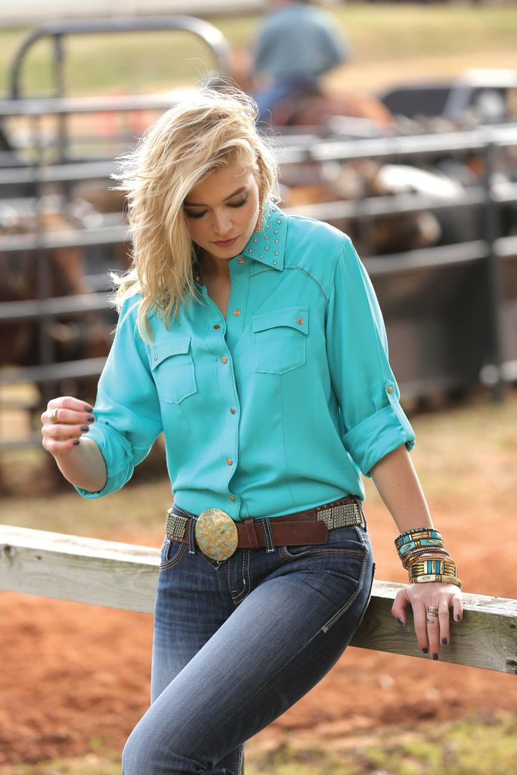 Teal Shirt Womens