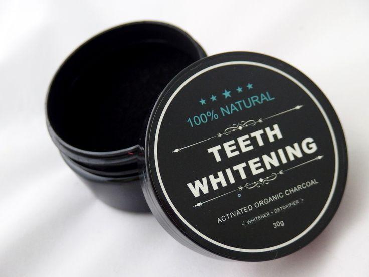 Węgiel wybielający zęby - SKLEP! W 100% naturalne wybielanie zębów! Proszek wybielający zęby idealny dla wrażliwych zębów! Najlepsza cena na rynku!