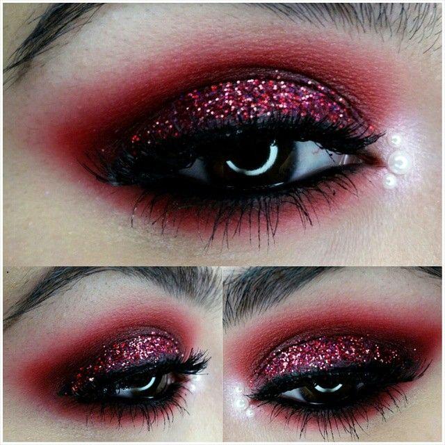 Todays work #motd ☆ i used @litcosmetics glitter in heartbreaker and @sugarpill shadow... | Use Instagram online! Websta is the Best Instagram Web Viewer!