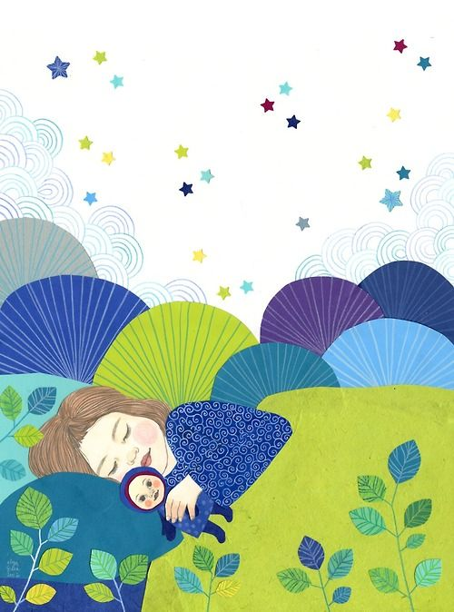 Les petits dormeurs d'Ilya Green. http://ilya-green.blogspot.fr