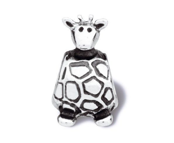 Pandora Bedel zilver 'Giraffe' 790274.  Leuke zilveren Pandora bedel in de vorm van een giraffe. De bedel is inmiddels uit de collectie.  https://www.timefortrends.nl/sieraden/pandora/bedels.html