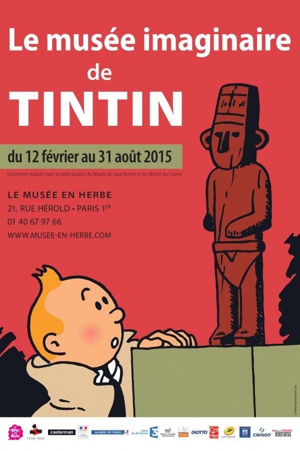 Exposition Le musée imaginaire de Tintin - Février 2015/Août 2015 -   Musée en Herbe :Paris 1er