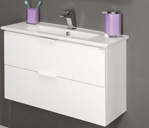 SLIM keramické umyvadlo 61x36cm, nábytkové, SAPHO E-shop