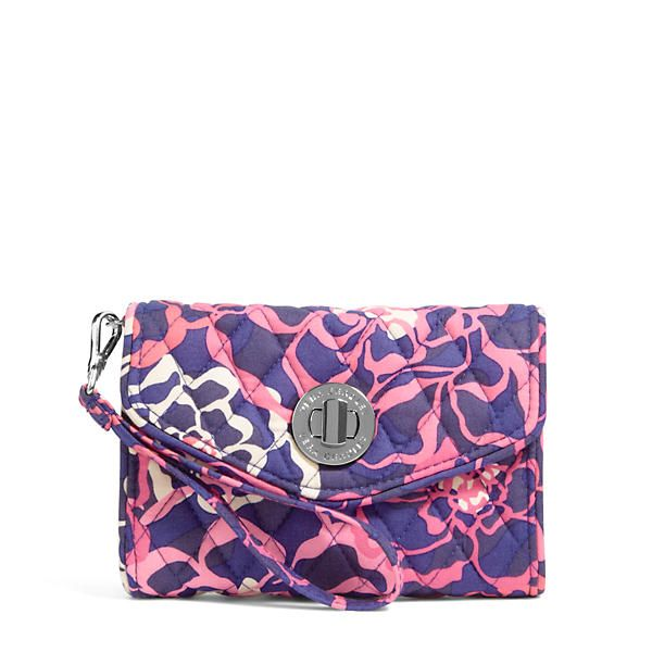 Vera Bradley Your Turn Smartphone Wristlet in Katalina Pink at The Paper Store