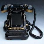 iphone, dock, steampunk