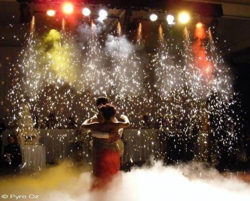 Bridal Waltz with Dry Ice & PyroFall  Wedding Fireworks by Pyro Oz