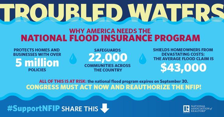 REALTORS Warn of Doomsday if Flood Insurance Expires