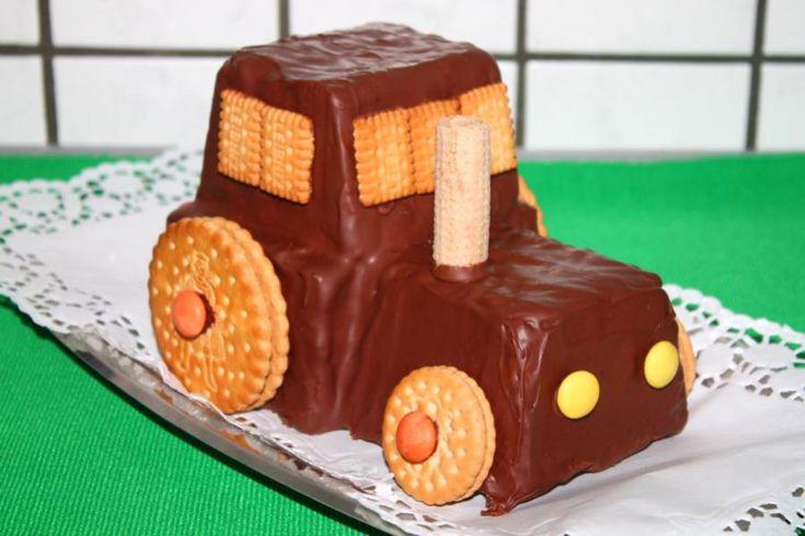 Das Rezept für den schnellen Traktor-Kuchen ist eine schnelle Alternative, wenn einem die Zeit im Nacken sitzt, man aber gerne etwas optisch besonderes zubereiten möchte.