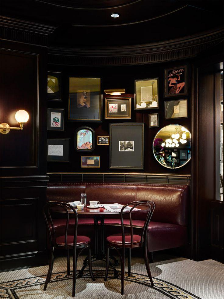 Ideas About Bistro Interior On Pinterest Cafe Design With Bar Interior  Design.