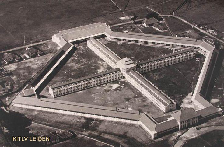 Gevangenis Soekamiskin bij Bandoengca. 1930