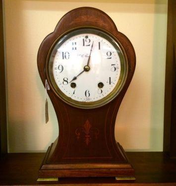 Ballon Clock Seth Thomas   Circa 1910  $325  Butler Creek Antiques Dealer #8804  Lucas Street Antiques 2023 Lucas Dr. Dallas, TX 75219  Like us on Facebook: https://www.facebook.com/pages