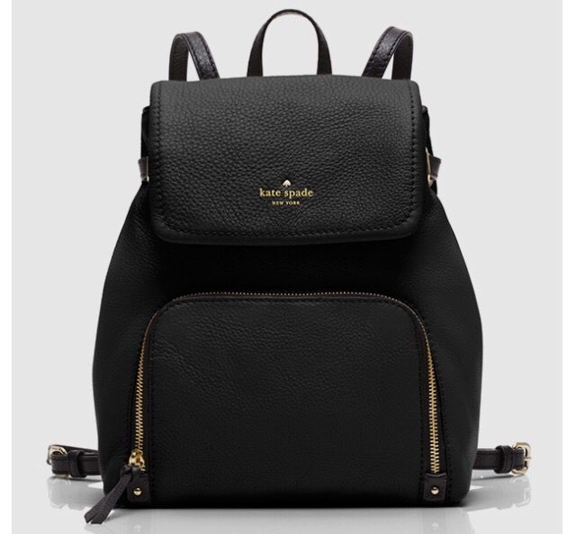 Black Kate Spade Backpack