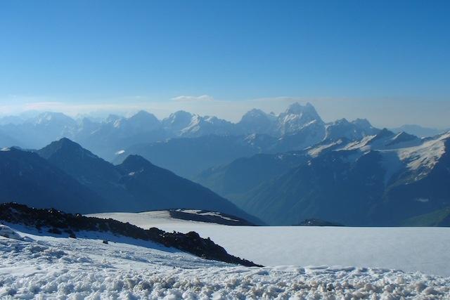 Caucasus Refuge View