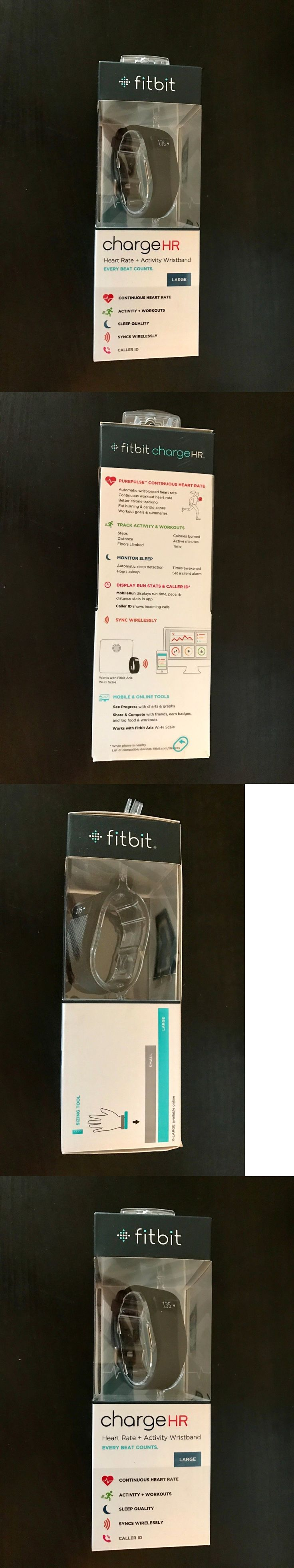 Activity Trackers 179798: Fitbit Charge Hr , Large Black Heart Rate -> BUY IT NOW ONLY: $89.99 on eBay!