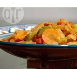 Estofado de pollo estilo Marruecos @ allrecipes.com.mx