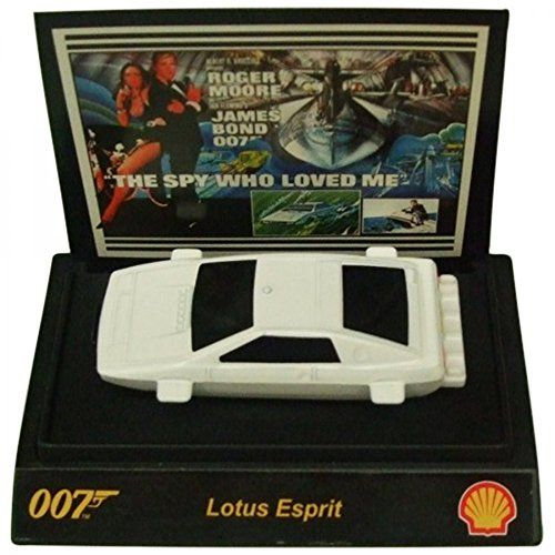 Shell James Bond 007 Collectible 1:64th Scale Car From Shell Lotus Esprit Collectible model car Lotus Esprit from The Spy Who Loved Me. 1:64th Scale (Barcode EAN = 5060384603933). http://www.comparestoreprices.co.uk/december-2016-6/shell-james-bond-007-collectible-164th-scale-car-from-shell-lotus-esprit.asp