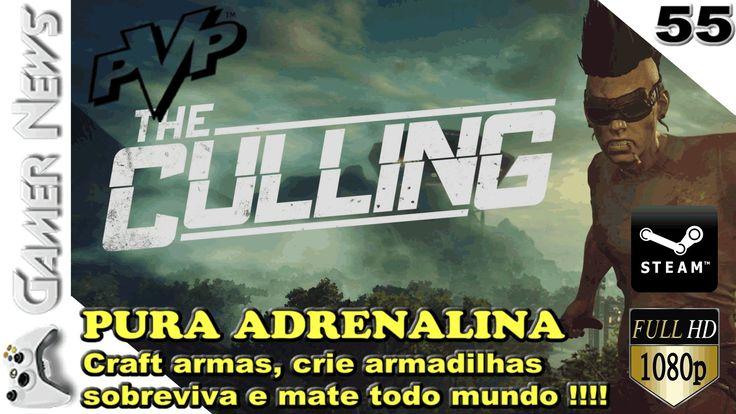 THE CULLING - Jogo de sobrevivência com PVP - equipe-se e enfrente a ARE...
