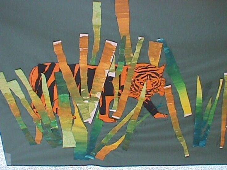 17 best ideas about arts plastiques maternelle on - Animaux de la jungle maternelle ...