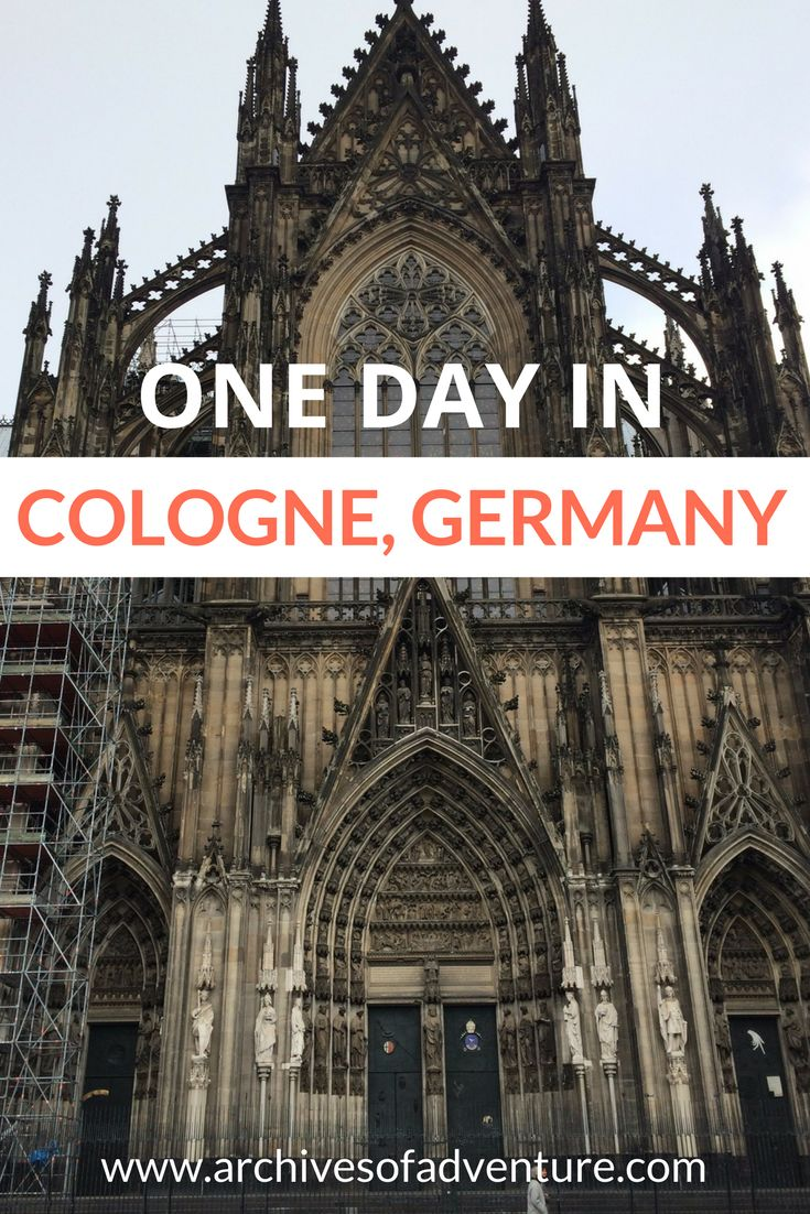 Cologne Germany | Cologne in One Day | Cologne Travel | Germany Travel  | One day in Cologne | What to do in Cologne | What to see in Cologne | Koln Germany | Koln Travel #Cologne #Koln #CologneTravel #GermanyTravel