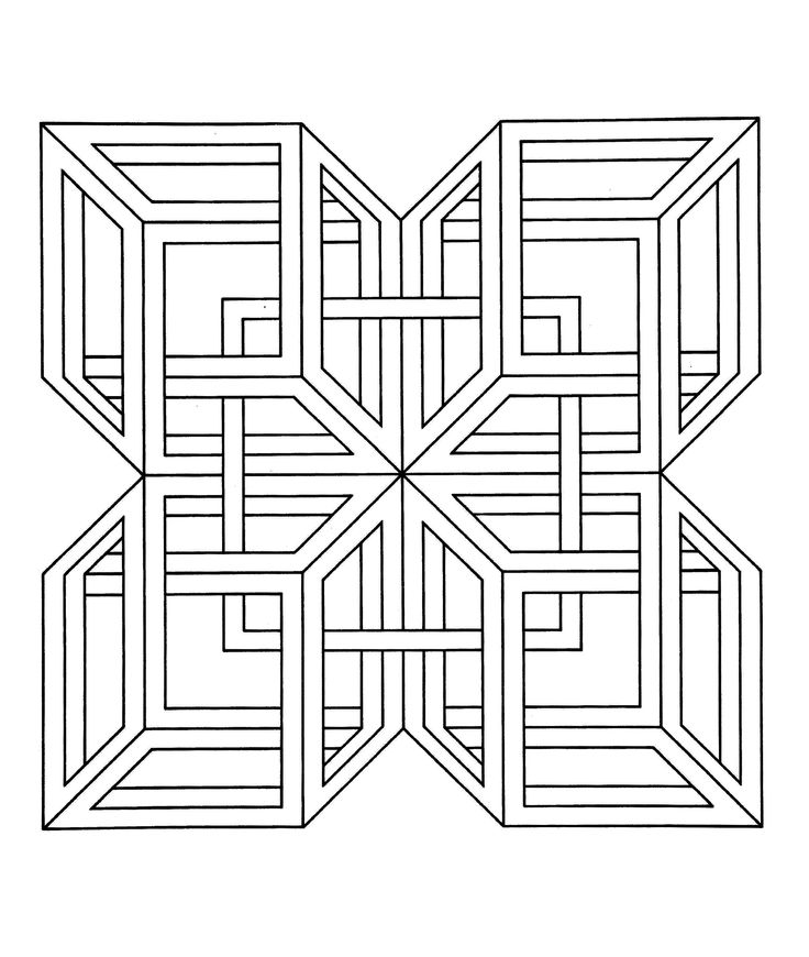 To print this free coloring page «coloring-op-art-jean-larcher-3», click on the printer icon at the right