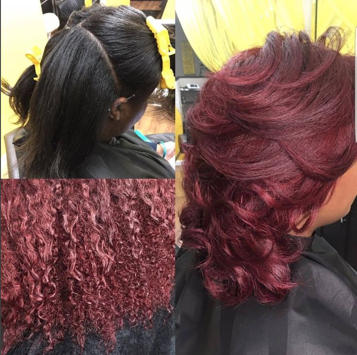 Nice color switch by @360blowoutbar - https://blackhairinformation.com/hairstyle-gallery/nice-color-switch-360blowoutbar/