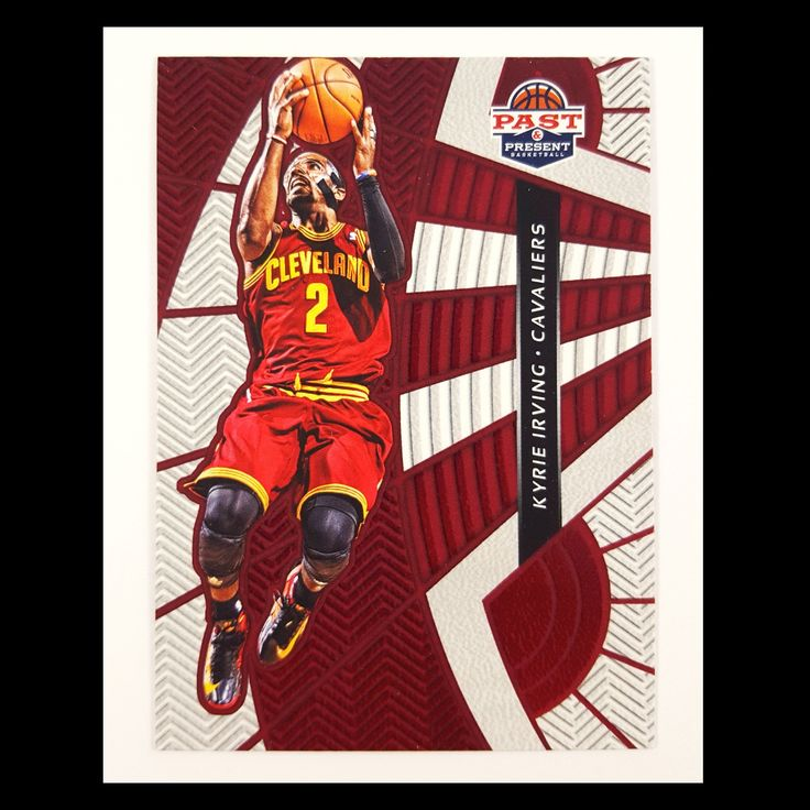 Kyrie Irving Basketball Card (2012-13 Past and Present)